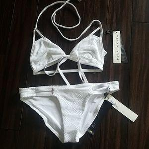 White Vitamin A bikini set